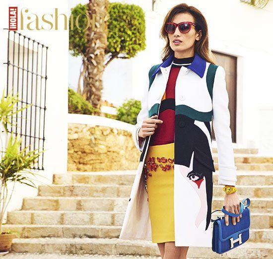 Nieves Álvarez, en ¡HOLA! fashion