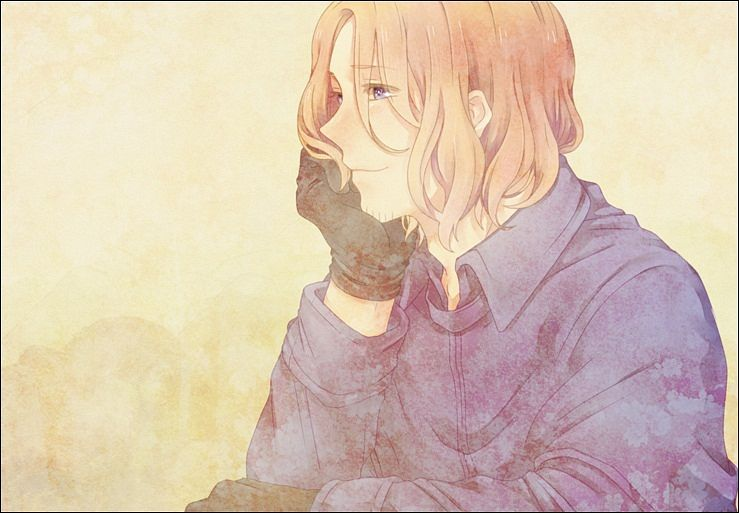 Fan Art of Francis~Bonnefoy for fans of Hetalia France.