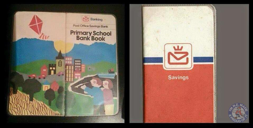 Old Post Bank Bank Books School Savings Books Saving My Childhood Memories