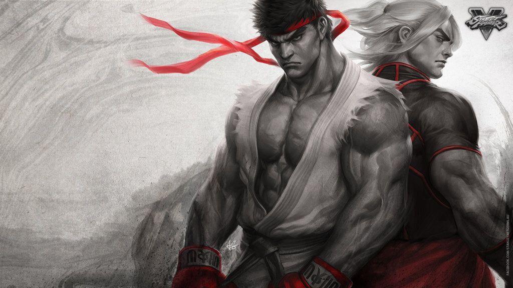 Brotherhood Of Fury Wallpaper Ryu Street Fighter Ken Street