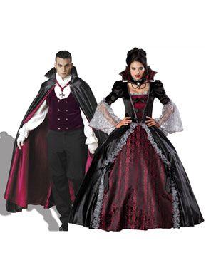 Dracula and Vampiress Vampire Costume Women 2d2439ab09d3