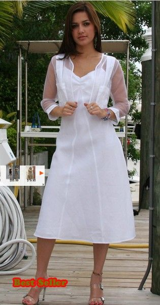 Las Dress With Guayabera Bolero For Wedding Lgdc186 Chiffon Traditional Cuban Linen Pleats 2 Pieces
