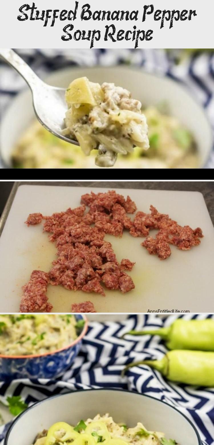 Stuffed Banana Pepper Soup Recipe Cake Recipes In 2020 Stuffed Pepper Soup Stuffed Peppers Recipes