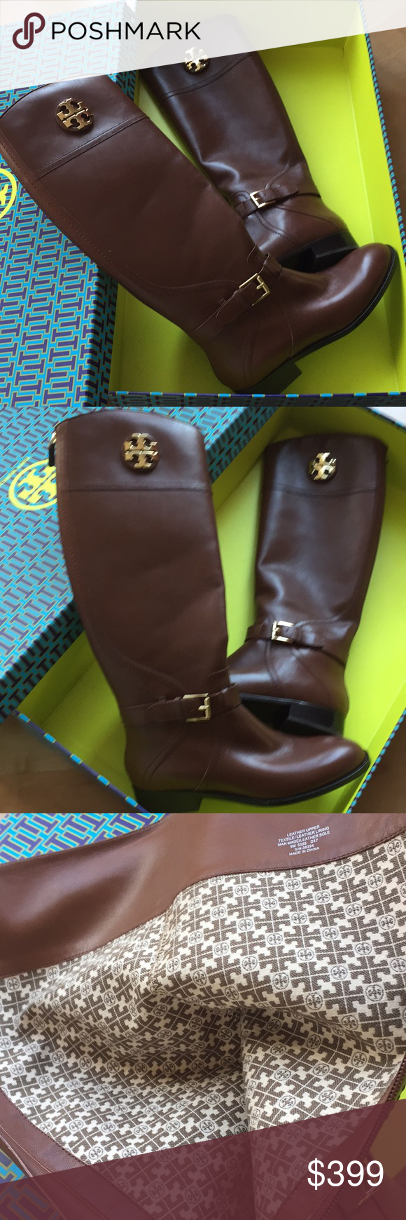 77380ce63b91 Tory Burch Adeline Riding Boot - Almond -Size 9 Tory Burch Adeline 20MM  Riding Boots in Almond. Size 9. New in box with tags. Beautiful boots!