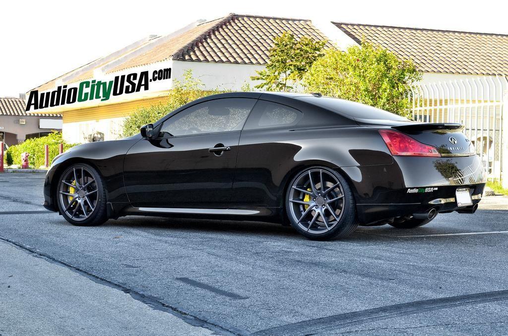 2011 Infiniti G37 Coupe On 20 Niche Targa Wheels By Audio City Usa