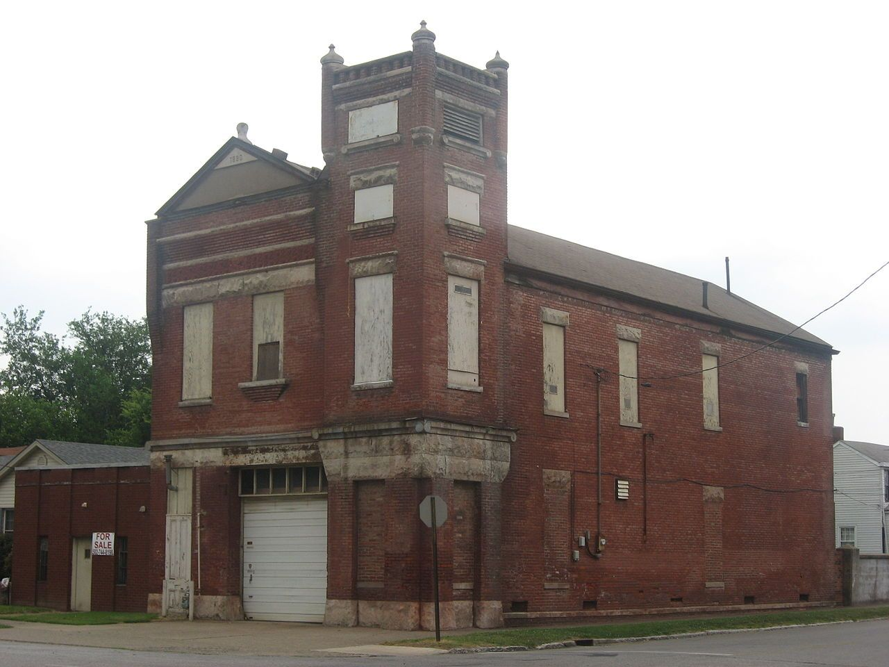 Hook and Ladder Company No. 4 in Louisville's West End, Kentucky.
