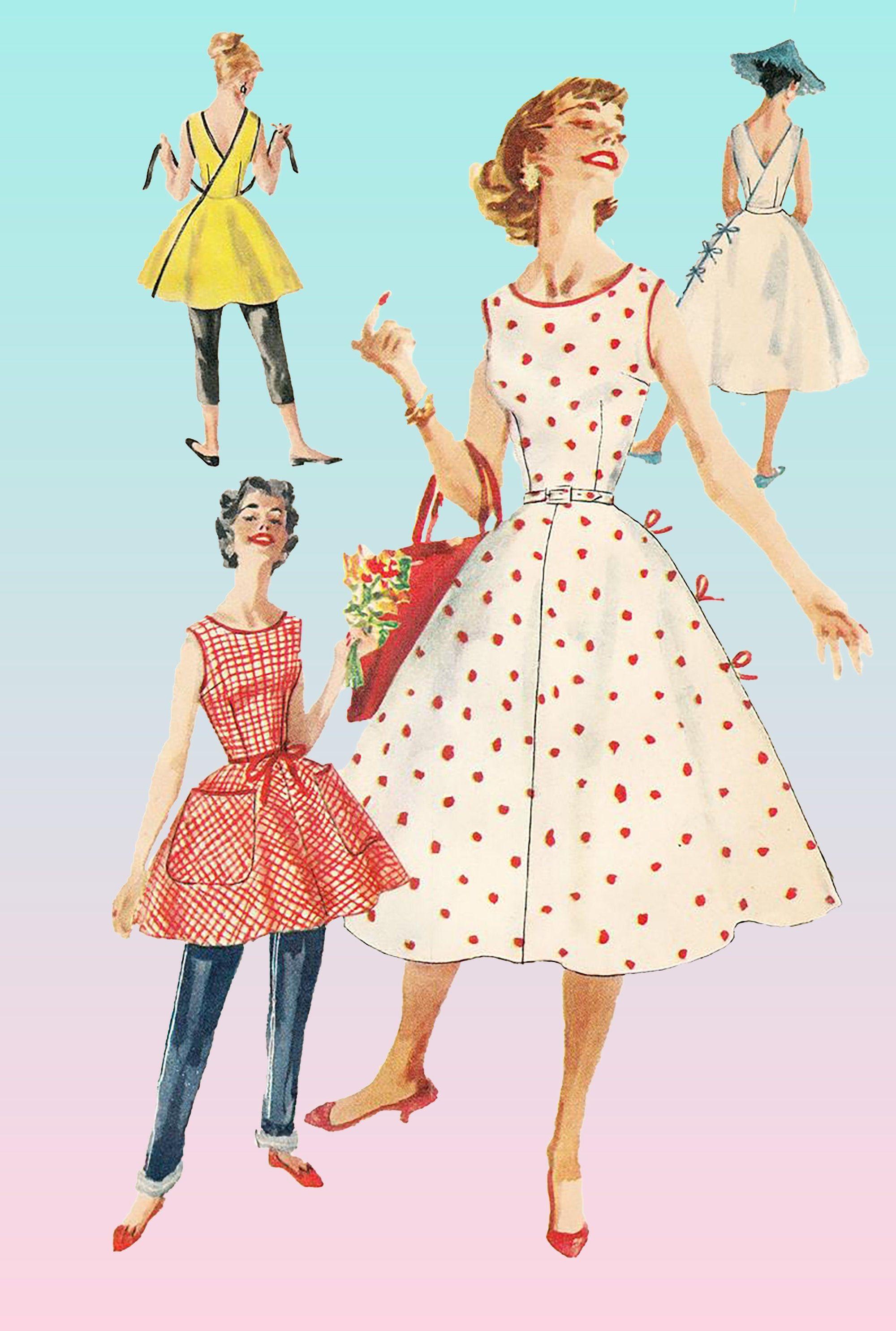 1950s Dress Pattern Simplicity 1662 50s Summer Dress 1956 Catskills Dress Wrap Dress Vintage Sewing Patterns Uncut Bust 32 1950s Dress Patterns Simplicity Patterns Dresses Vintage Dress Patterns [ 2970 x 2000 Pixel ]