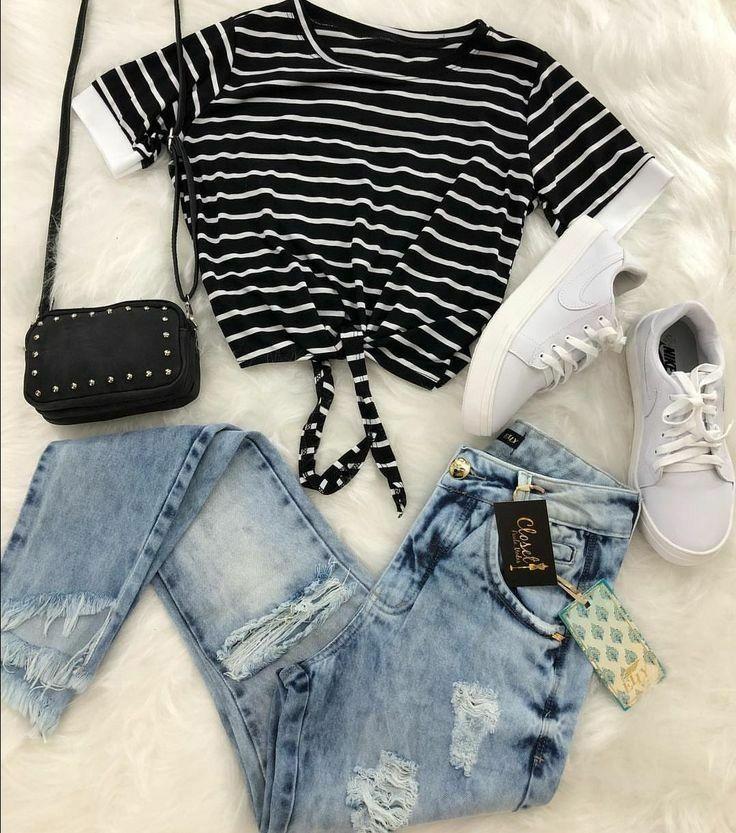 Casual Outfit Ideen für Teenager Casual Outfits für den Tag - Klicken Sie auf die Li ... - Welcome to Blog