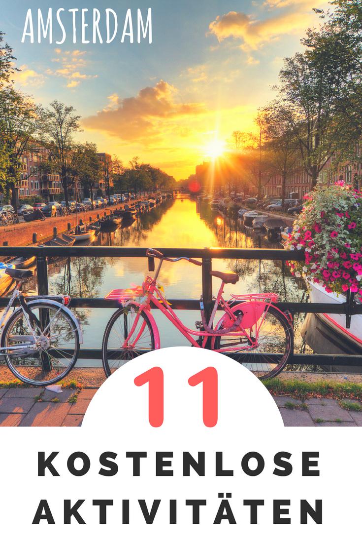 11 actividades que puedes hacer gratis en Amsterdam