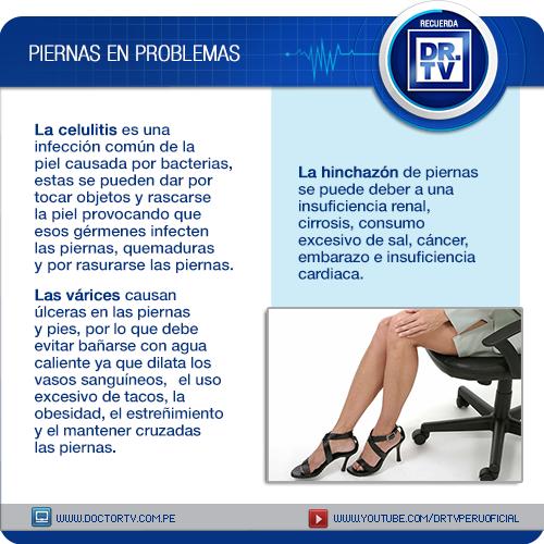 complicaciones de la celulitis en las piernas