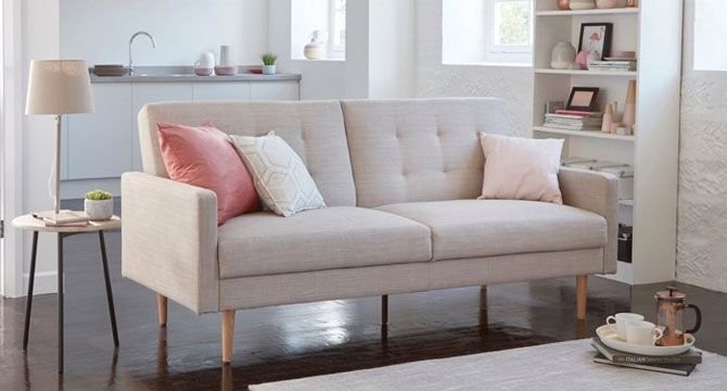 Midcentury Style Lola Sofa Bed At Dfs