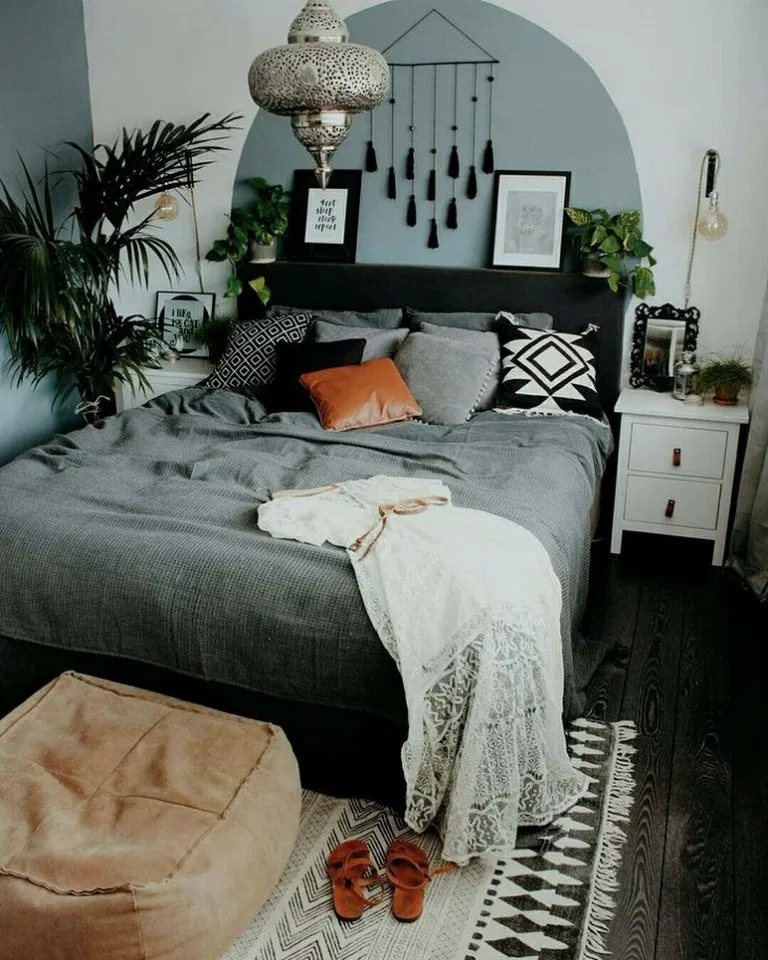 31 Modern Retro Vintage Style Bedroom Ideas Vintage Bedroom Styles Cheap Home Decor Bedroom Design