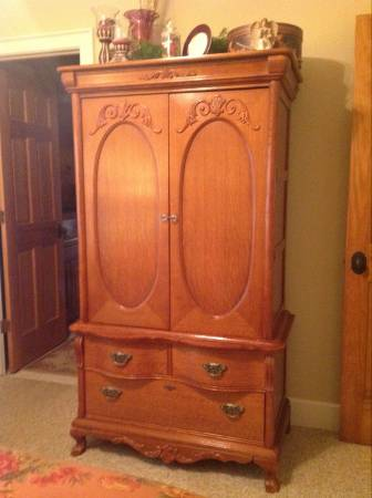 Lexington victorian sampler collection armoire furniture - Lexington victorian bedroom furniture ...