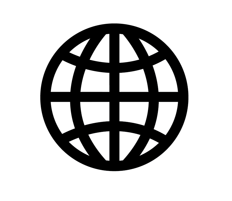 Having Failed With A Thin And Detailed Globe Image For The Internet Scanimation I Decided To Create A Much More Simpl Globe Icon Website Icon Png Website Icons