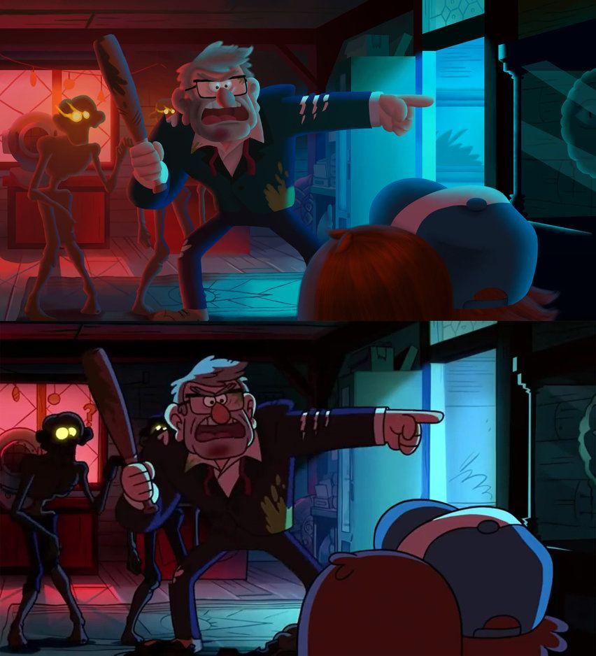 Gravity Falls - Scaryoke by Katy133