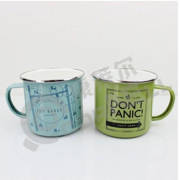 Customized Enamel Painting Stainless Steel Rim Enamel Camping Mug Custom Enamel Mug Buy Printed Enamel Mugs Custom Enamel Mug Enamel Camping Mug Product Kamp