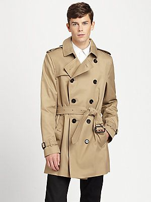 a854bcec3cf7 Burberry London Britton Modern-Fit Trenchcoat