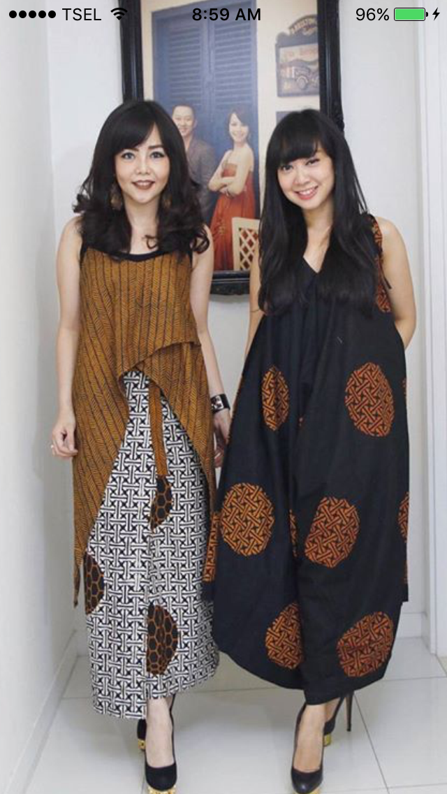 Idea Of Asymmetrical Draped Overlap Indian Clothing Batik Dress