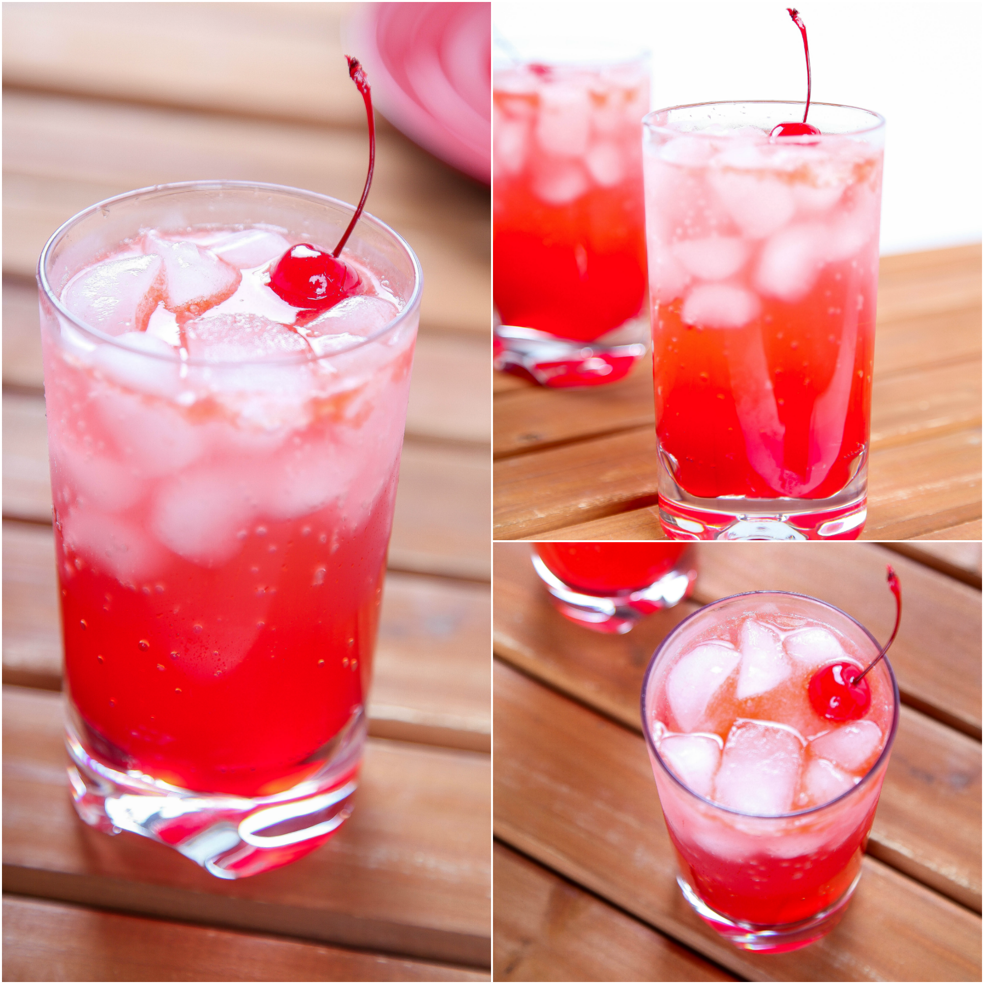 Shirley Temple Recipe | Drinkable... no alcohol | Pinterest