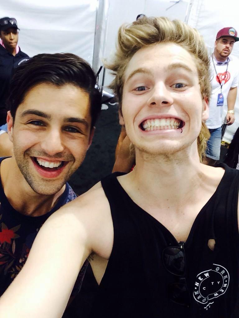 Luke met Josh from Drake & Josh