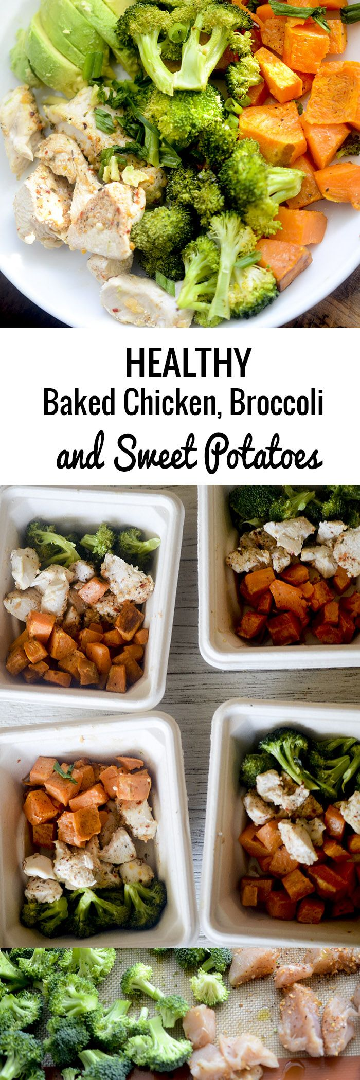 Healthy Baked Chicken Broccoli And Sweet Potatoes Recipe Diaries Healthy Mealprep Healthy Baked Chicken Healthy Baking Healthy