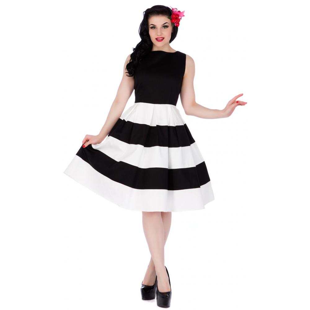 dolly & dotty 50er jahre streifen petticoat kleid - anna