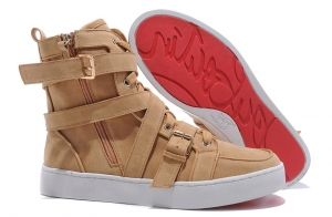 f0919ca08e2 Christian Louboutin Mens Spacer Flat Sneaker Apricot $108.80 these ...