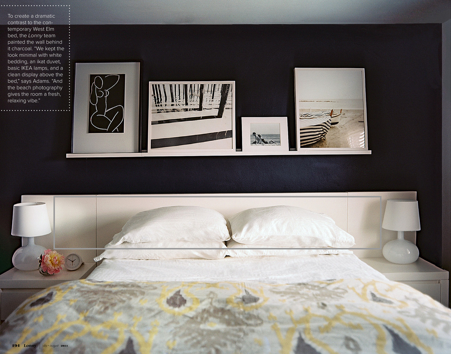 Lovely Over the Bed Art Ideas