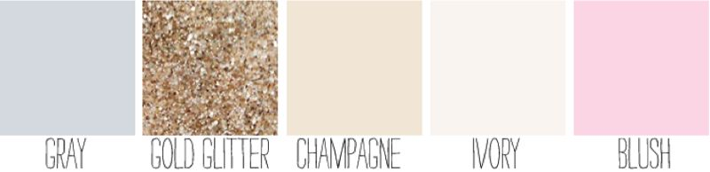 Found on Weddingbee.com Share your inspiration today! i like it all except maybe a soft yellow instead of pink? i don't know, i do like the pink too.....