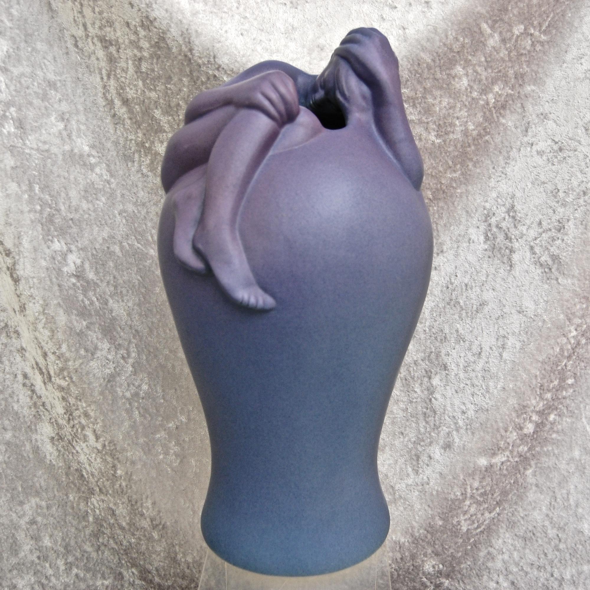 Van briggle pottery despondency vase lilac blue lilacs van briggle pottery despondency vase lilac blue reviewsmspy