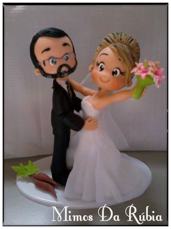 fondant wedding cake toppers tutorial 201 pingl 233 par helene graulich sur p 226 te fimo 14388
