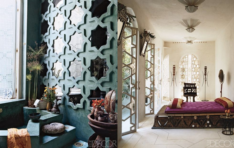 Luxury Moroccan Inspired Living Room