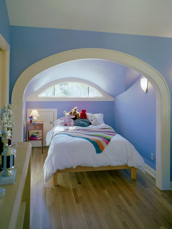 Homes The Attic Space Was Converted Into A Bedroom With Closet Space And Bath Cooled Love The Eyebro Attic Conversion Bedroom Attic Rooms Attic Renovation