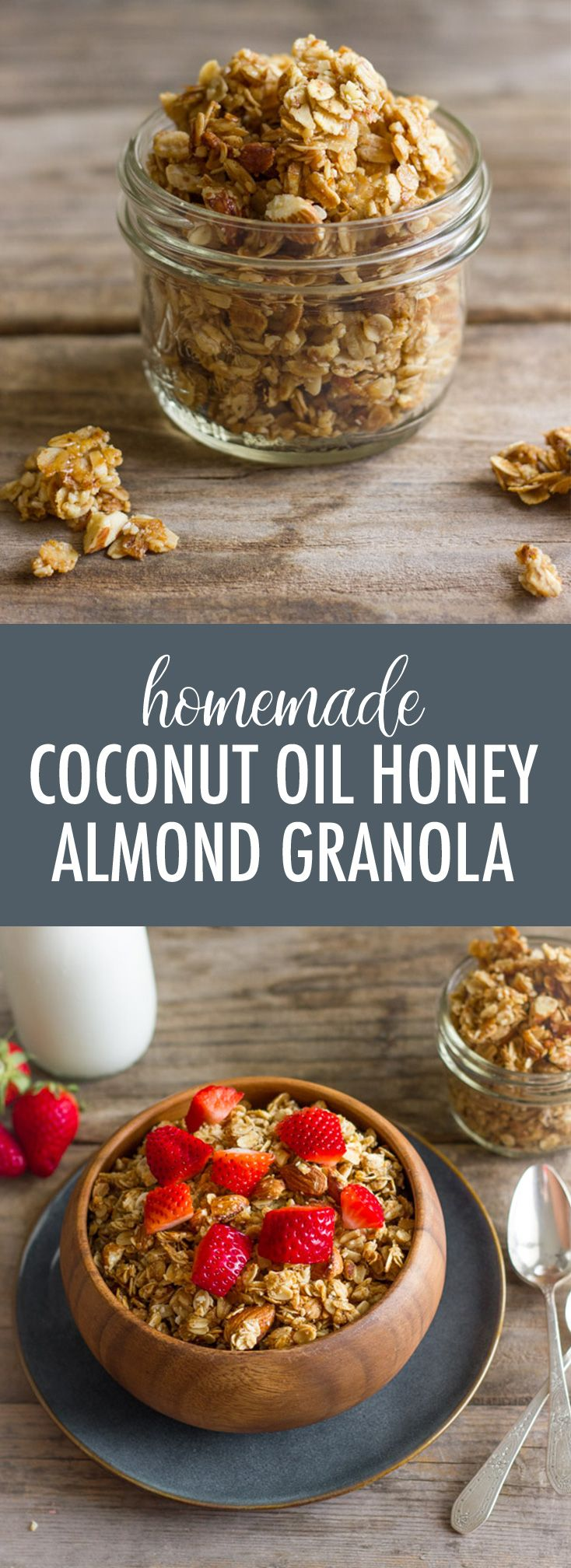Wonderfully sticky and clumpy, this Homemade Coconut Oil