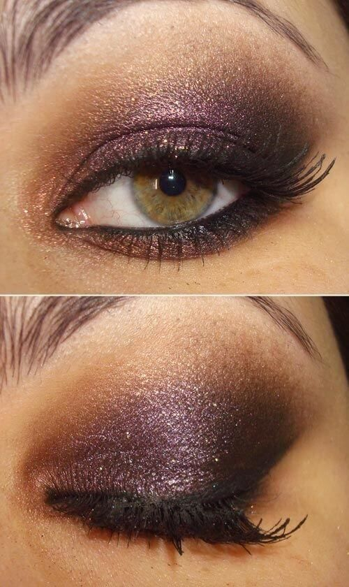 25 pretty christmas makeup ideas to make you look hot looking goooood pinterest smoky eye eye and makeup