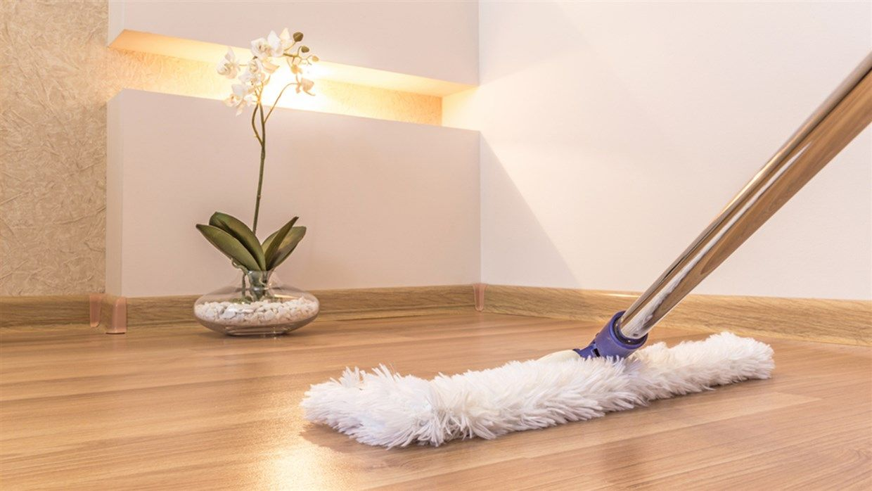 How often you should clean hardwood floors — and the right