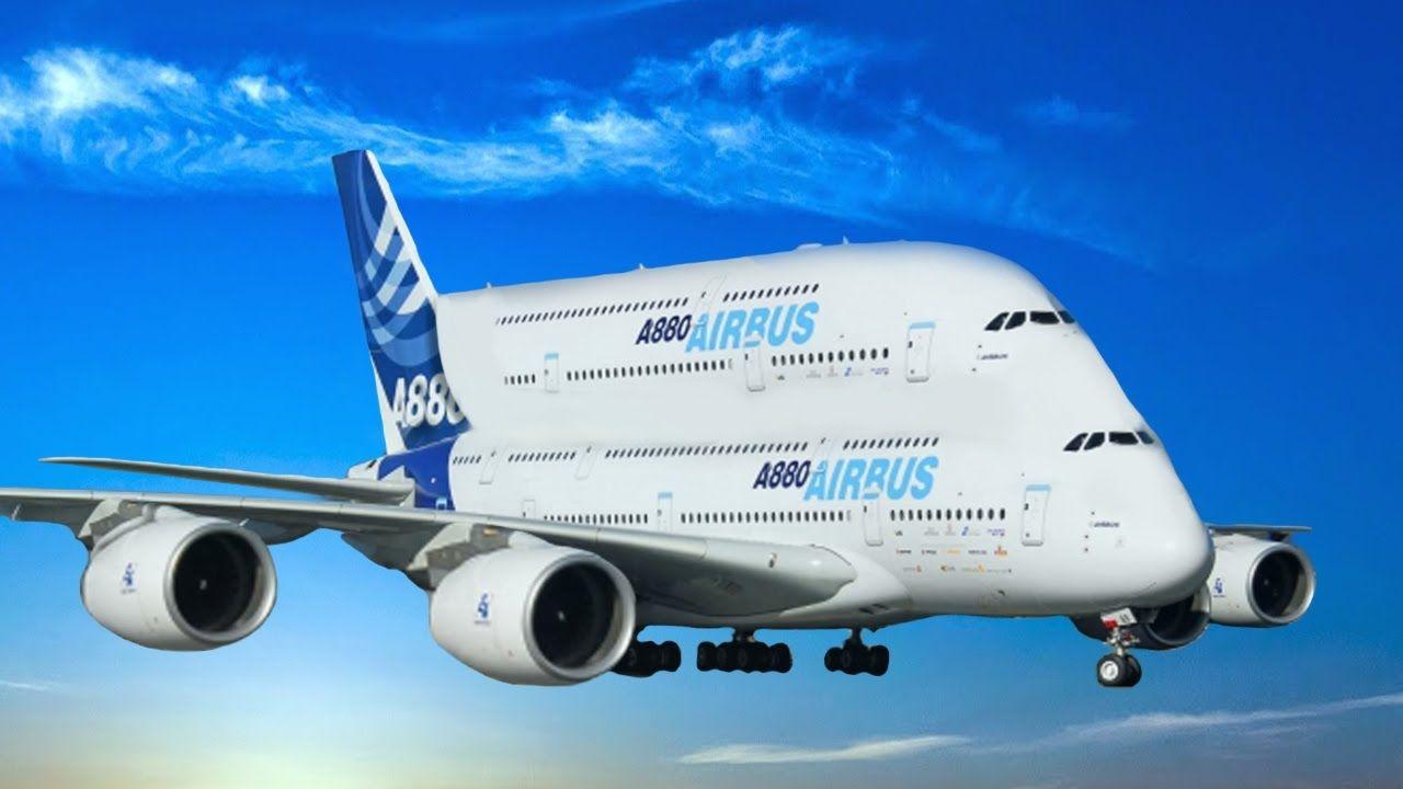 Gigantes De La Aviacion Mas Grandes Del Mundo Airbus A380 Boeing