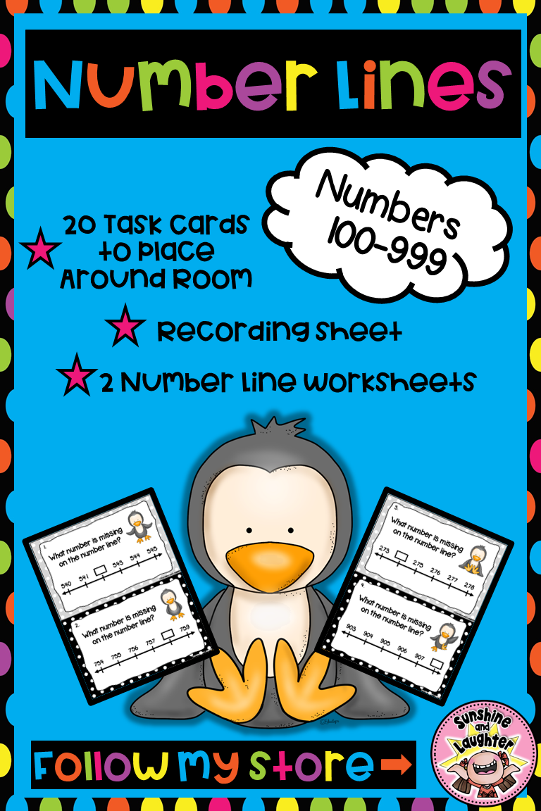 Number Lines 100 999 Number Line Multiplication Math Centers Elementary Resources [ 1152 x 768 Pixel ]