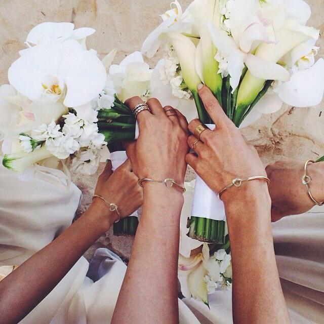 Tie The Knot Bracelet Bridesmaid Proposal Box Set In 2019 Products Wedding Bridesmaid Bracelet Bridesmaid Proposal