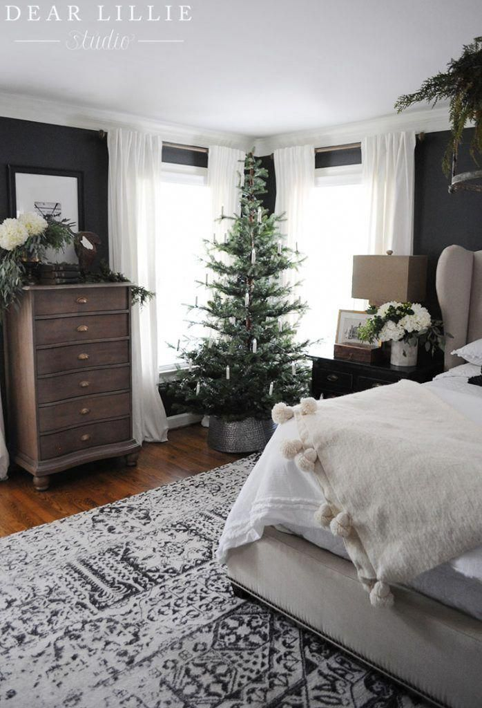 Seasons of Home - Christmas Master Bedroom - Dear Lillie Studio