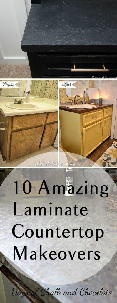 10 Amazing Laminate Countertop Makeovers