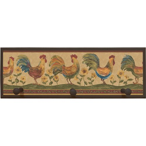 Found it at Wayfair Rooster Framed Painting Print with