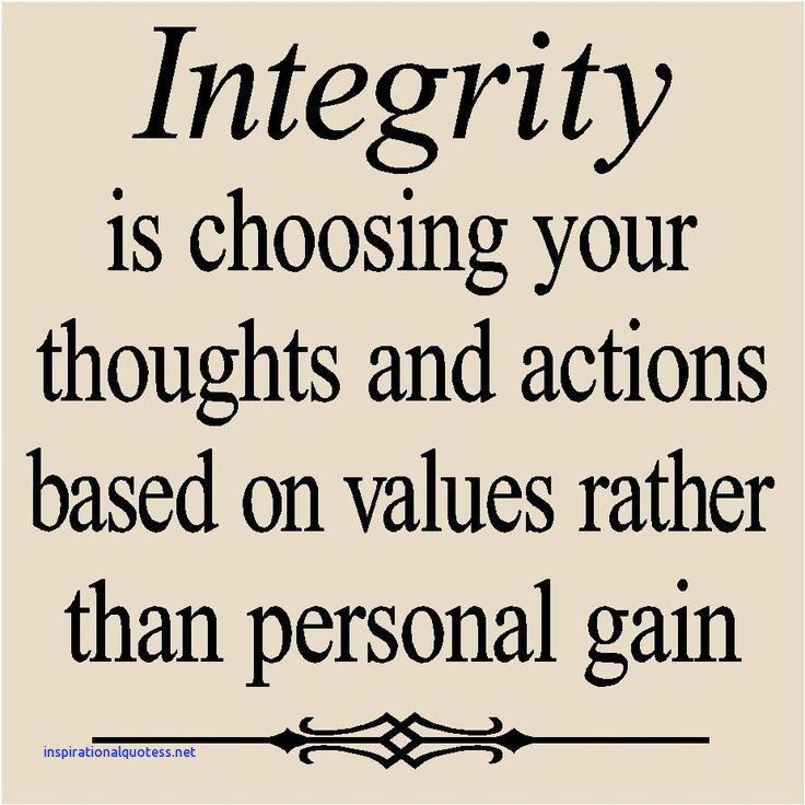 Inspirational Quotes About Integrity Quotes Pinterest