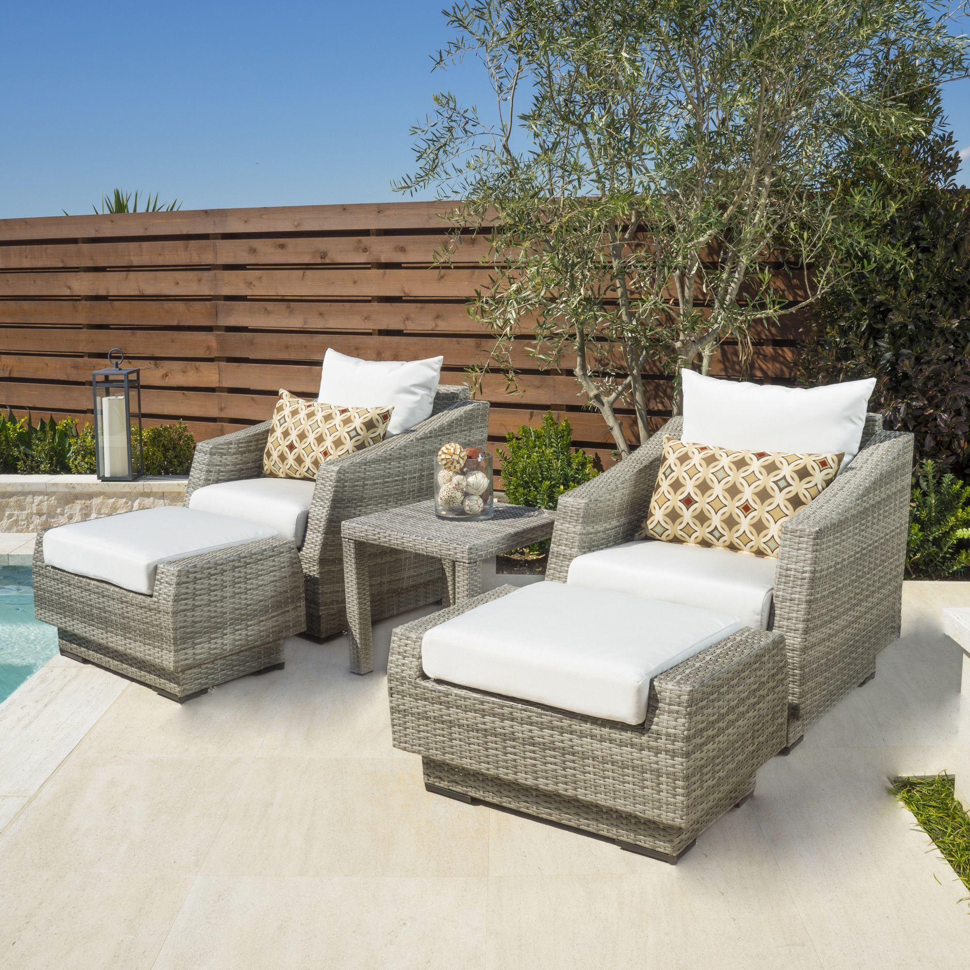 5 Piece Deep Seating Group with Cushion Products