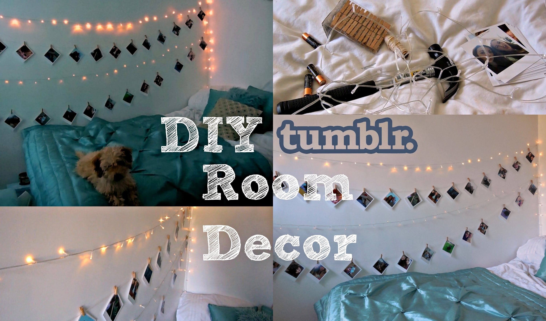 DIY Tumblr Inspired Room Decor DIY Home Decor Pinterest