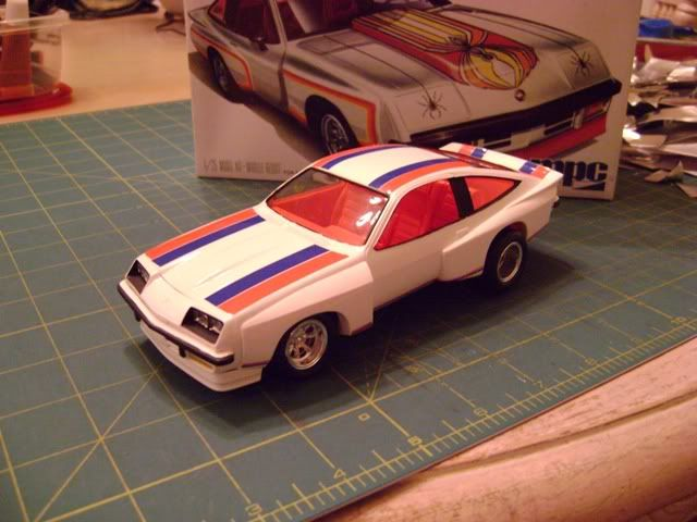 Chevrolet Monza Mirage Number 2 Scale Auto Magazine For Building Plastic Resin Scale Model Cars Truck Vintage Muscle Cars Car Model Classic Chevy Trucks
