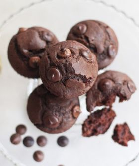 Nutella chocolate chip muffins...did someone say NOM?!