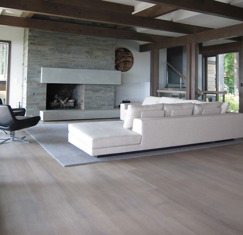 Using A Grey Hardwood Floors Nailed Pompanogreyfloors