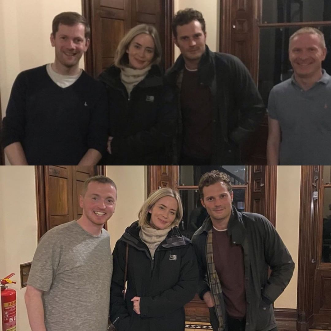 Anthony On Instagram First Pictures Of Emily Blunt And Jamie Dornan In Ireland Shooting Wild Mountain Thyme Emilyblunt Jamie Jamie Dornan Jamie Emily Blunt