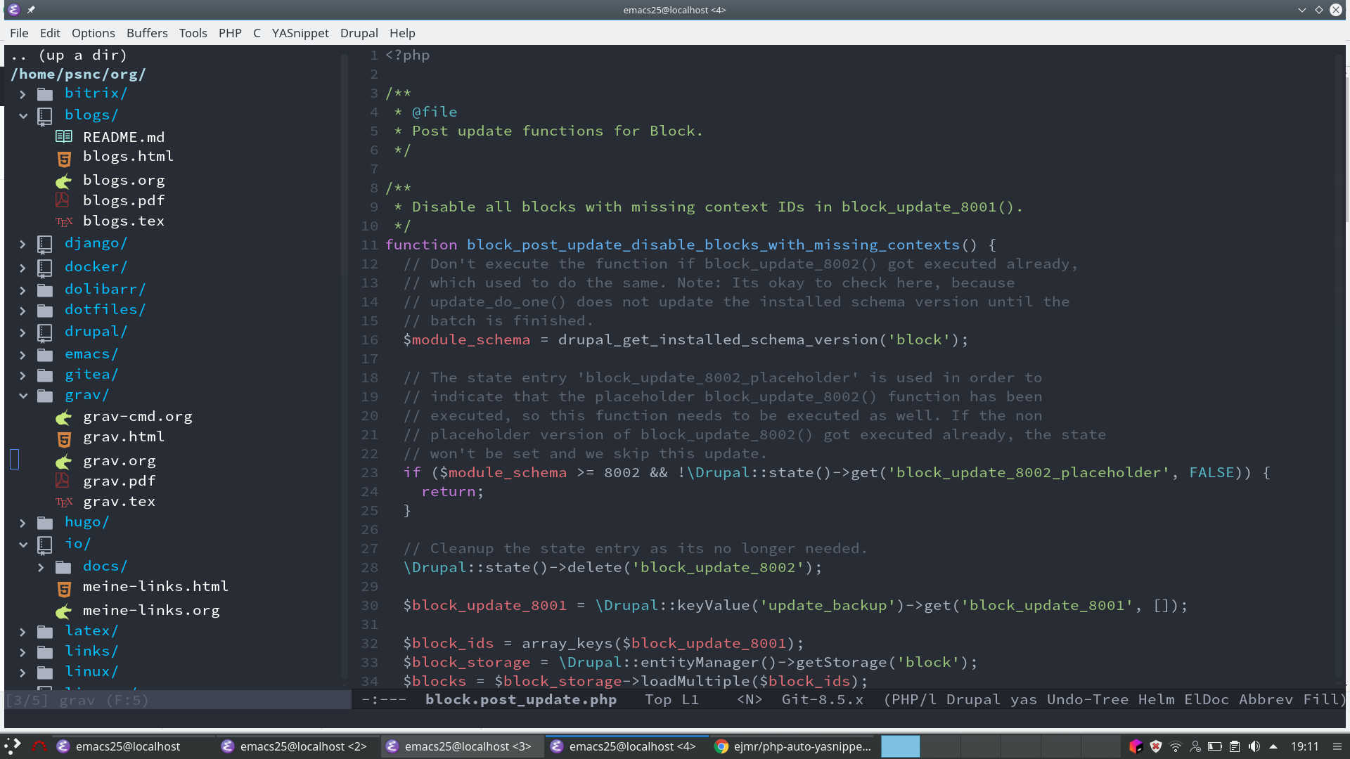 Fountain mode - for writing screenplays in Emacs | Emacs | Pinterest ...